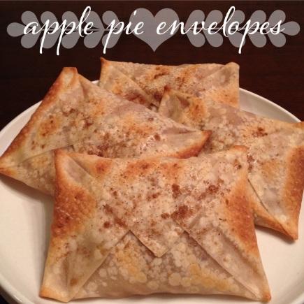 my skinny sweet tooth | apple pie envelopes