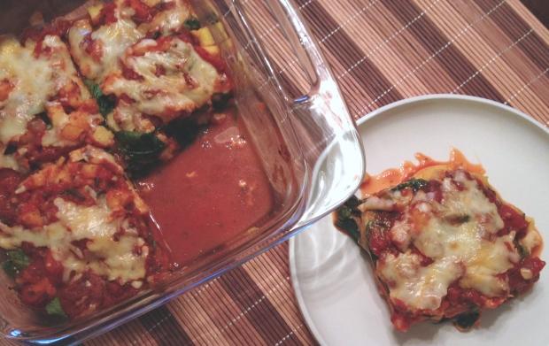 polenta bake   my skinny sweet tooth