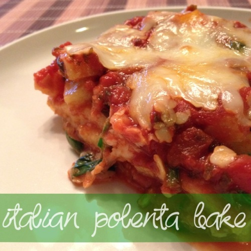 polenta bake | my skinny sweet tooth