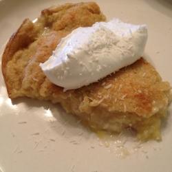 skinny coconut custard pie | my skinny sweet tooth