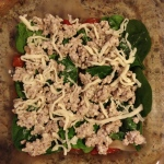 skinny turkey & spinach lasagna | my skinny sweet tooth