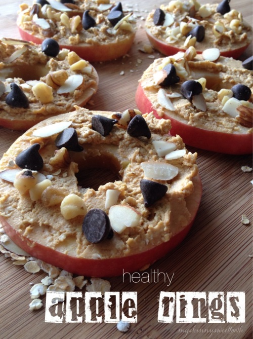 healthy apple rings | my skinny sweet tooth