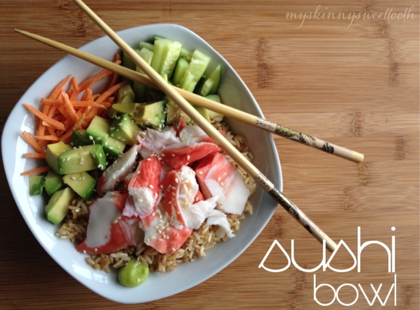 sushi bowl | my skinny sweet tooth
