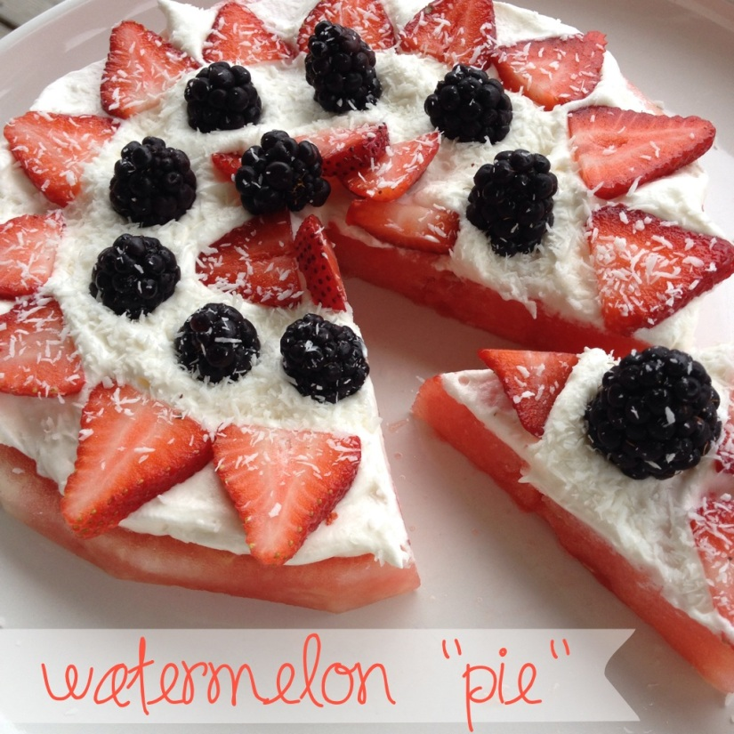 "watermelon ""pie"" 