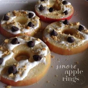 s'more apple rings | my skinny sweet tooth