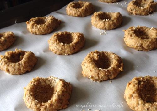 pb&j thumbprint cookies | my skinny sweet tooth