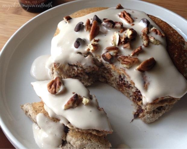 derby pie pancakes | my skinny sweet tooth