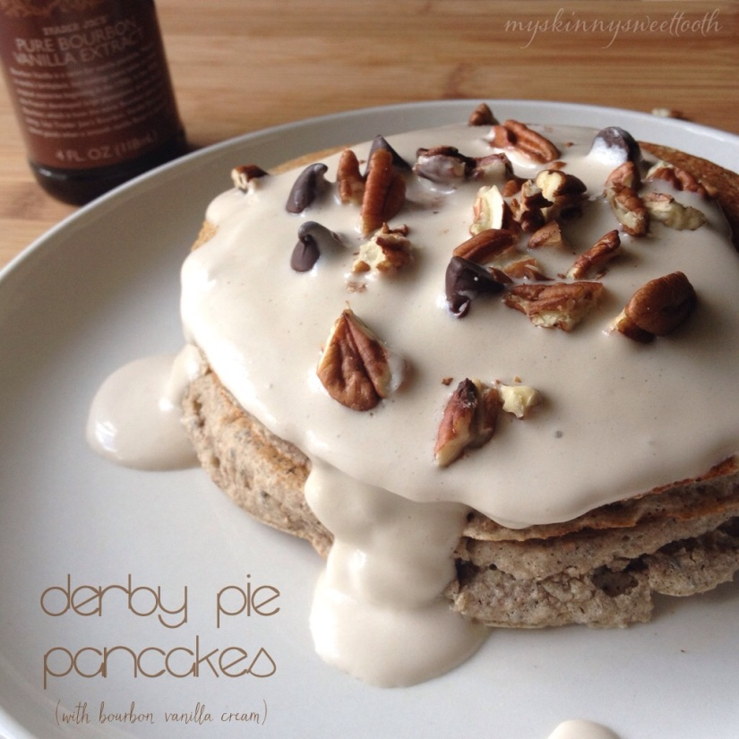 derby pie pancakes | my skinny sweet tooth