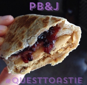 quest toastie | my skinny sweet tooth