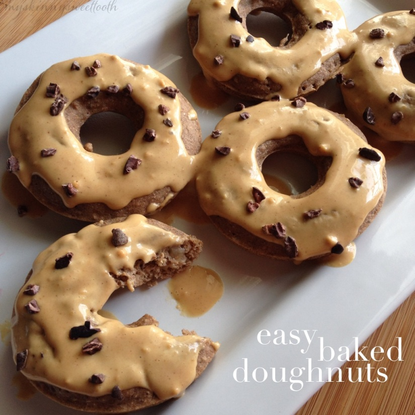 easy baked doughnuts | my skinny sweet tooth
