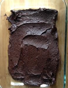 brownie bottom banana bread bars | my skinny sweet tooth