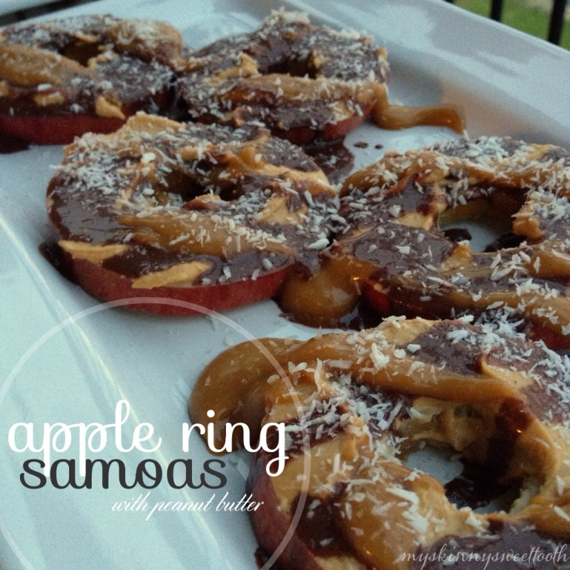 apple ring samoas | my skinny sweet tooth