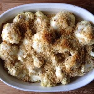 skinny cheesy cauliflower gratin | my skinny sweet tooth