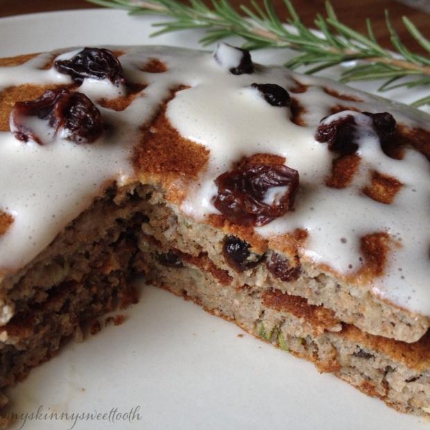 rosemary raisin pancakes | my skinny sweet tooth