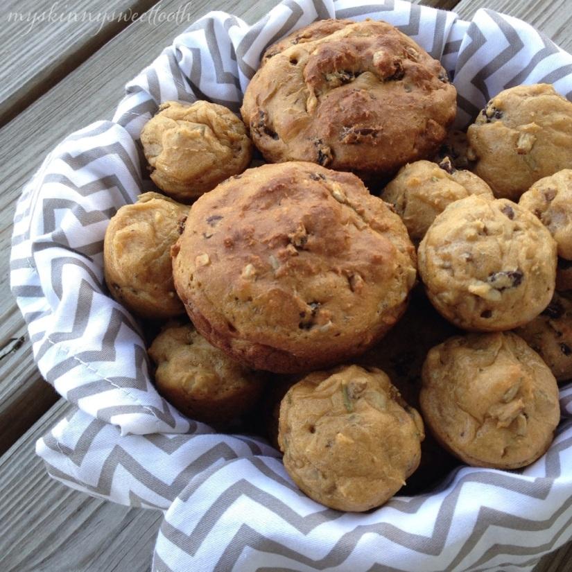 rosemary raisin muffins | my skinny sweet tooth
