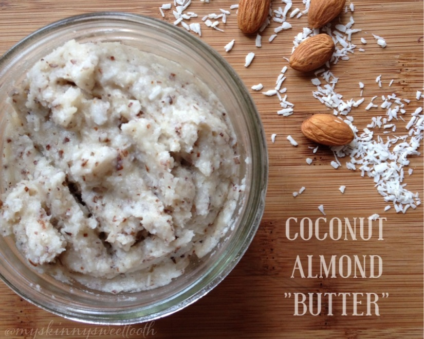 "coconut almond ""butter"" 