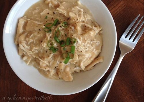 easy chicken & noodle dumplings | my skinny sweet tooth