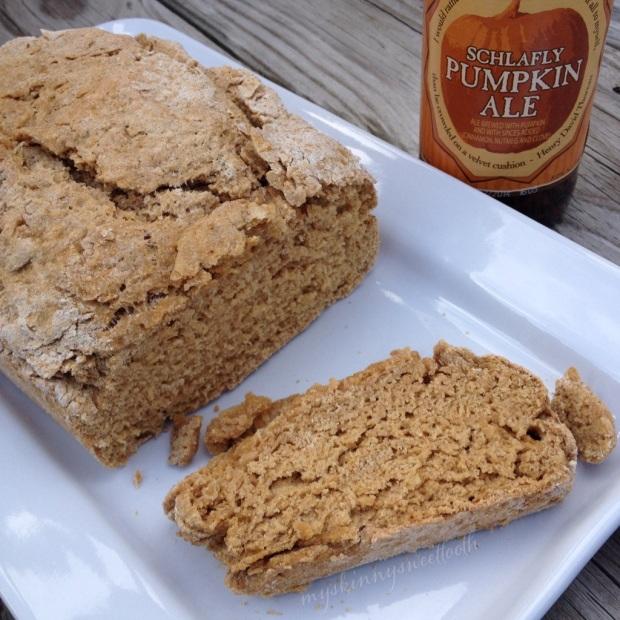 pumpkin beer bread | my skinny sweet tooth