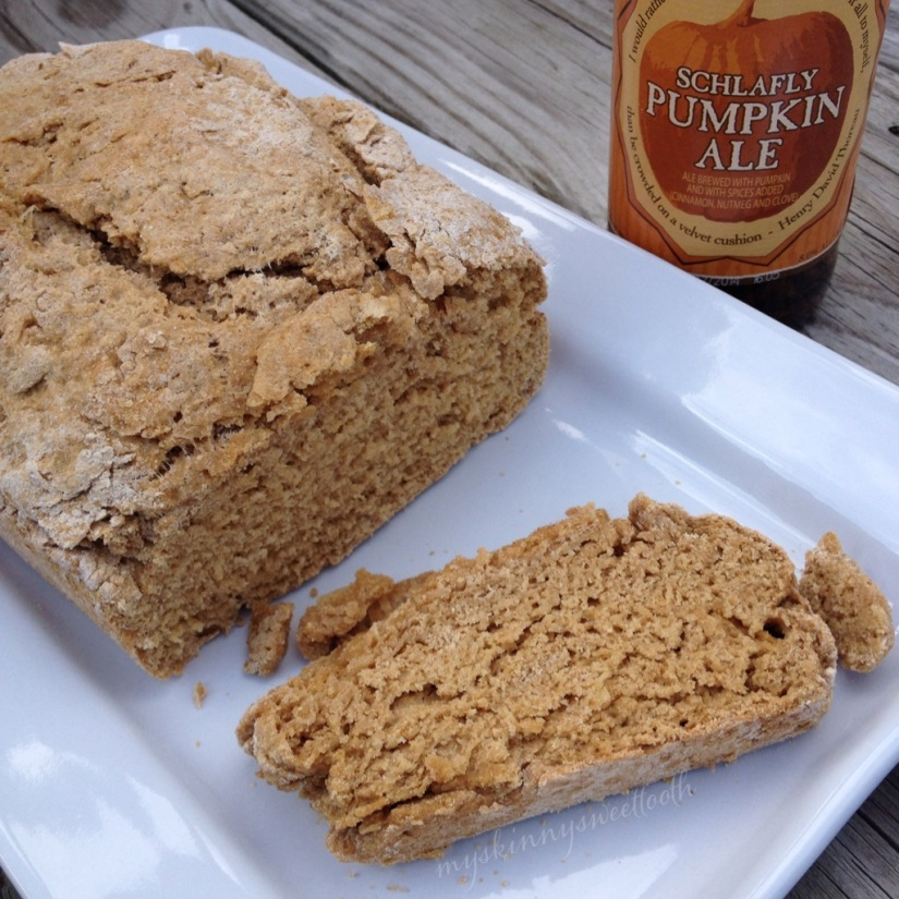 pumpkin beer bread | my skinny sweet tooth
