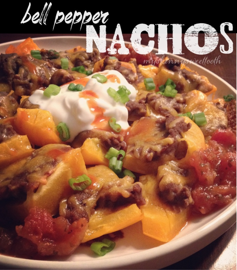 bell pepper nachos | my skinny sweet tooth