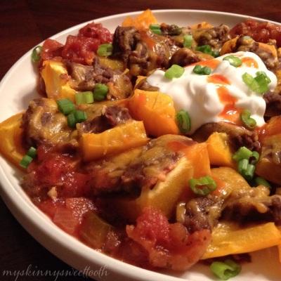 bell pepper nachos | my skinny sweet tooth