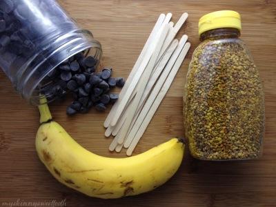 superfood banana pops | my skinny sweet tooth