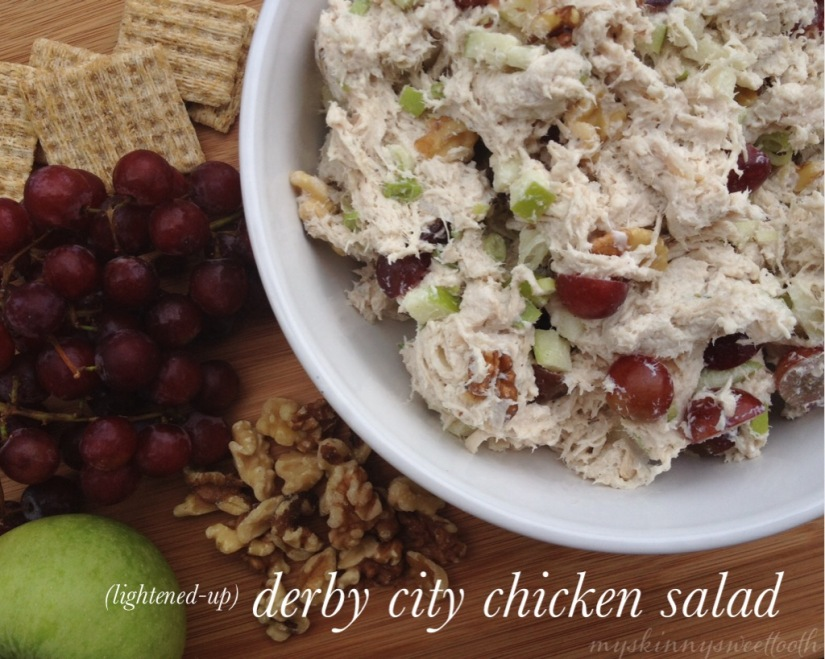 lightened-up derby city chicken salad | my skinny sweet tooth
