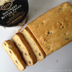 ice cream bread | my skinny sweet tooth