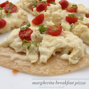 margherita breakfast pizza |my skinny sweet tooth