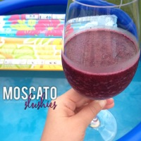 moscato slushies | my skinny sweet tooth