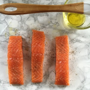 Crispy Salt & Pepper Salmon | my skinny sweet tooth