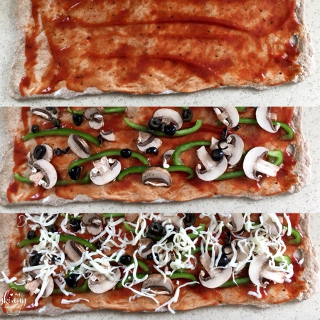 Veggie Pizza Rolls | my skinny sweet tooth