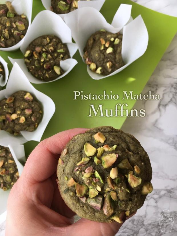 Pistachio Matcha Muffins   My Skinny Sweet Tooth