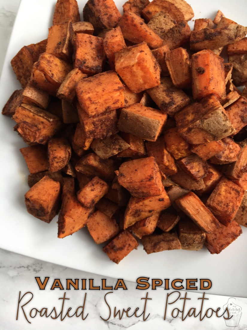 Vanilla Spiced Roasted Sweet Potatoes | My Skinny Sweet Tooth
