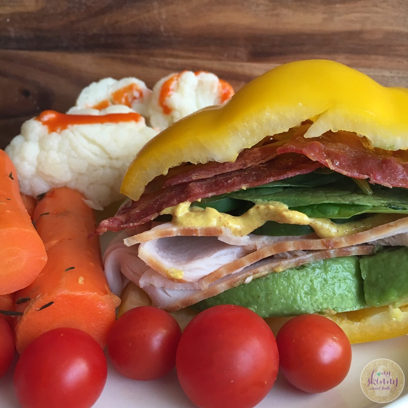 Bell Pepper Sandwich | My Skinny Sweet Tooth