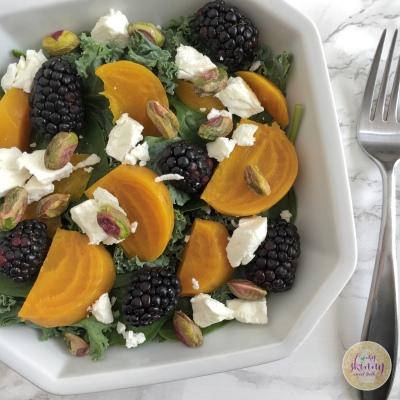 Golden Beet Salad | My Skinny Sweet Tooth