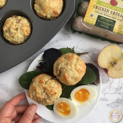 Apple Sausage Breakfast Muffins | My Skinny Sweet Tooth