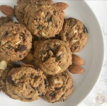 Cherry Almond Paleo Cookies | My Skinny Sweet Tooth