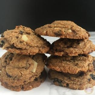 Cherry Almond Paleo Cookies | My Skinny Sweet Tooth