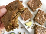 Zucchini Bread Bars | My Skinny Sweet Tooth