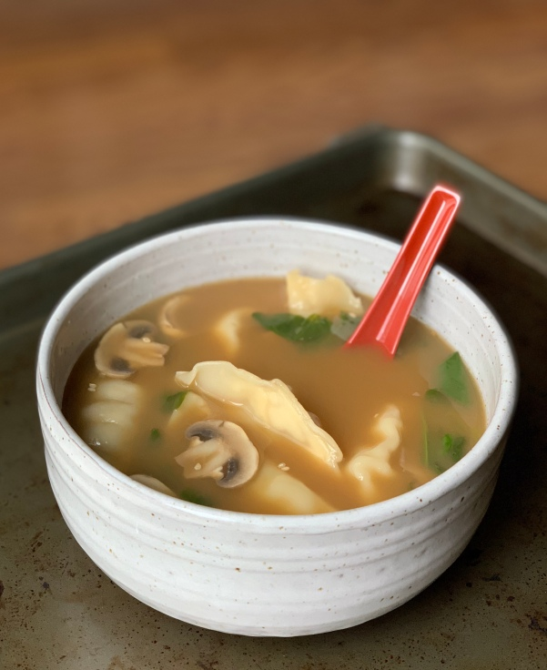 Lazy Girls Wonton Soup | My Skinny Sweet Tooth