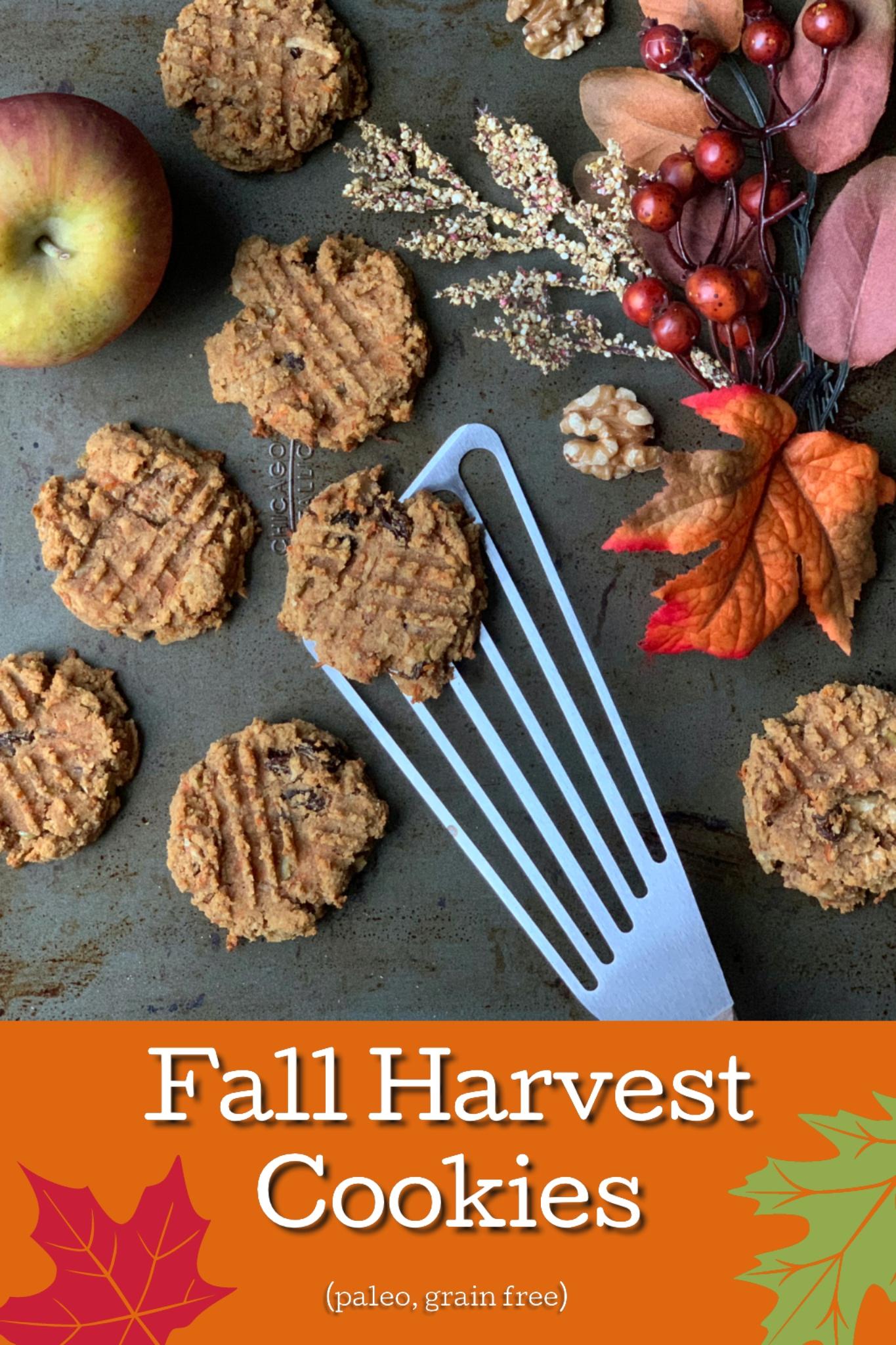 Fall Harvest Cookies | My Skinny Sweet Tooth